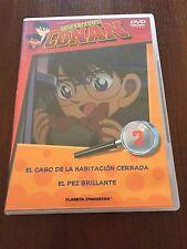 DETECTIVE CONAN DVD 2 - 1 DVD - 2 CAPS - 50 MIN - JONU MEDIA PLANETA DEAGOSTINI