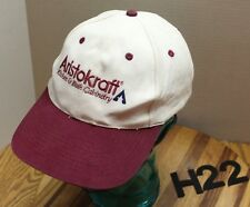 ARISTOCRAT KITCHEN & BATH CABINETRY HAT WHITE/RED SNAPBACK EMBROIDERED VGC H22