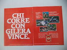 advertising Pubblicità 1988 MOTO GILERA MX1 125/KZ 125/XR1 XR 1