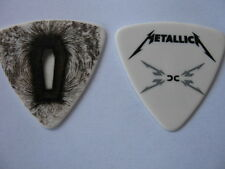 METALLICA 2009 TOUR DEATH MAGNETIC COFFIN BASS PICK REAL TOUR GUITAR PICK