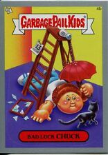 Garbage Pails Kids 2014 Series 1 Silver Parallel Base Card 4b BAD LUCK CHUCK