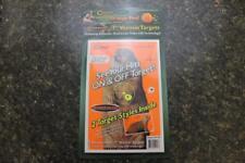 """Caldwell Orange Peel 7"""" Prairie Dog Vermin Targets Self Adhesive New 10 Pack"""