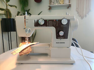 Janome New Home Semi Industrial ZigZag Sewing Machine Model 641 Heavy Duty