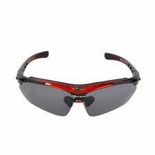 RockBros Bike Cycling Outdoor Sports Goggles Polarized Glasses Sunglasses 5 Lens