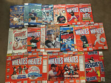 Wheaties Cereal Boxes Lot Of  17