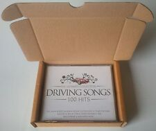 10 xPizza Style CD Boxes/Mailers. Holds 1 - 5 CD's = 3 x CD'S OR 5 x SINGLE CD'S
