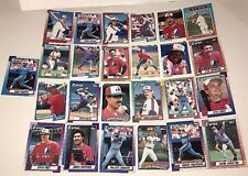 Major League Baseball Montreal Expos Collectable Baseball Cards Lot of 25 Cards