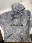 Under Armour Boys Coldgear Hoodie, Gray Digital Camo, YMD, EUC 101