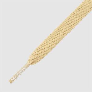 Shoelaces Flat Sand Mr Lacy Flatties, High quality laces 130 cm long,10 mm
