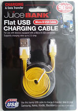 Nokia Mobile Wall Charger Cable Data Transfer Cable Flat Micro USB Super HiSpeed