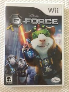 Disney G-Force ( Nintendo Wii ), Complete w/Case & Manual