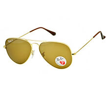 Ray Ban AVIATOR Classic 001/57 Gold Frame / Polarized Brown Classic B-15 Lens