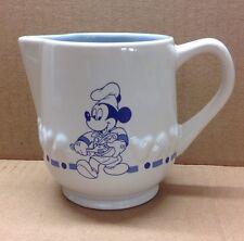 Disney Gourmet Collection Mickey Mouse Creamer White & Blue