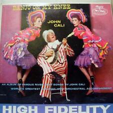 John Cali - Banjo On My Knee LP VG+ MGW 12162 Mercury Mono USA Rare