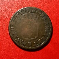 #1611 - RARE - Louis XVI Sol 1786 R Orléans - FACTURE