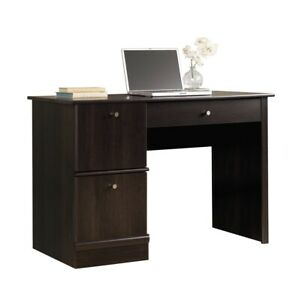 Sauder Computer Desk, Cinnamon Cherry Finish