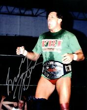 Tracy Smothers Signed WCW Wrestling 8x10 Photo WWE WWF Wrestler ECW FBI 6
