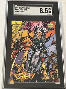 1992-93 Upper Deck #507 Larry Bird Fanimation SGC 8.5