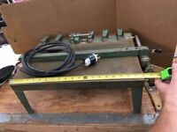 """Vintage Band-O-Matic Electric Edge banding Trimmer - 12"""" capacity"""
