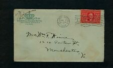 1904 ROYAL PALACE HOTEL, Atlantic City with SUPER LETTER from Hotel Employee !