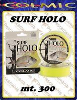 Monofilo mulinello Giapponese Colmic SURF HOLO mt.300 pesca in mare