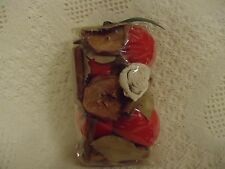 "Country Essence A+ Red Apple Potpourri Material 7"" x 4"" x 3"" Pkg."