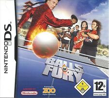 BALLS OF FURY for Nintendo DS NDS - with box & manual