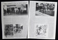 CENTENARY OF THE CYCLISTS TOURING CLUB CYCLING BICYCLE 2pp PHOTO ARTICLE 1978