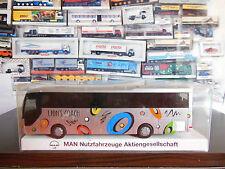 Rietze Fahrzeugmarke MAN Auto-& Verkehrsmodelle mit Werbemodell