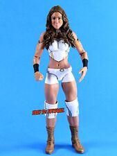 Diva Eva Torres WWE Mattel Basic Series Wrestling Figure White NXT WWF TNA_s69