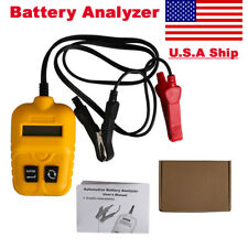 Car Battery Tester Automotive Condition Analyzer Voltage ohm CCA Test Detector
