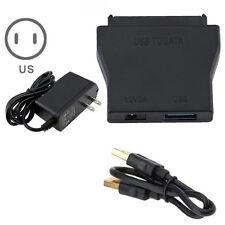 "USB 3.0 a SATA Convertidor Cable adaptador 2.5 ""3.5"" HDD SSD + US Fuente"