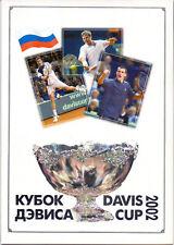 Russia 2003 Tennis. Davis Cup, set + s/sheet. souv. package MNH