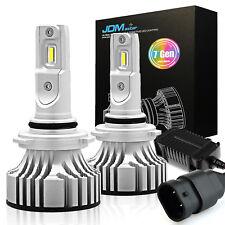 JDM ASTAR 7G 9006 72W 8000LM LED Headlight High Low Beam 6500K White Bulbs Xenon