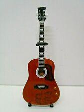 Axe Heaven Miniature Guitar John Lennon Give Peace a Chance