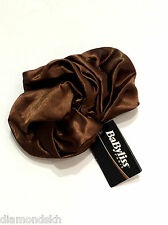 BABYLISS Paris - Brown Satin Scrunchie Ponytail Hair Band BNWT