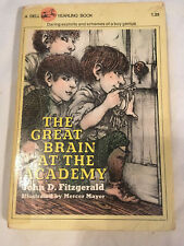 THE GREAT BRAIN AT THE ACADEMY Mercer Mayer JOHN FITZGERALD 1976 fifth printing