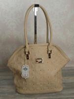 LYDC großer Fashion Shopper  Schultertasche Henkeltasche Tasche in Beige  663B