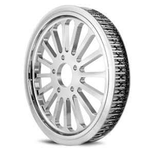 DNA Chrome 1 1/2 x 70 Tooth Super Spoke Rear Pulley Harley 86-99 Evo Twin Cam
