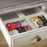 2pc Smart Drawer Organiser Box Dividers Underwear Socks Cloth Divider Storage