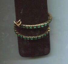Gold Wrap bracelet Rare! Alex & Ani Green