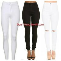 Brand new Ladies High Waisted Skinny stretchy jegging jeans UK all size