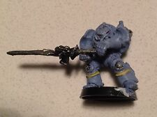 Grey Knight Terminator with Nemesis Force Sword Rogue Trader 1989 (I)