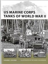 Osprey Vanguard 186 US Marine Corps Tanks of World War II Softcover Reference ST