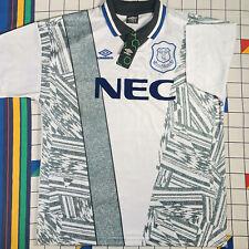 Score Draw Everton 1995 Retro Away Umbro Football Shirt Size XL | Brand New