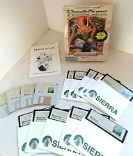 SIERRA BIG BOX Heros Quest 1989 So You Want To Be A Hero IBM Tandy DOS PC Game