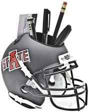 ARKANSAS STATE RED WOLVES NCAA Schutt Mini Football Helmet DESK CADDY