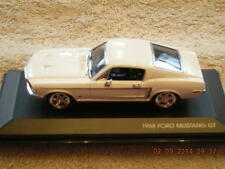 43206WH 1968 Ford Mustang GT Car NEW IN BOX