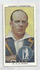 1938 John Player & Sons (33) R. E. S. WYATT Worwickshire & England