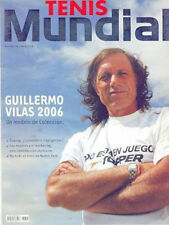 TENNIS GUILLERMO VILAS INTERVIEW & PHOTOS MAG ARGENTINA